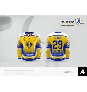 Hokejový dres replika HK...
