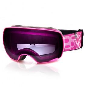 YOHO lyžiarske okuliare ružové